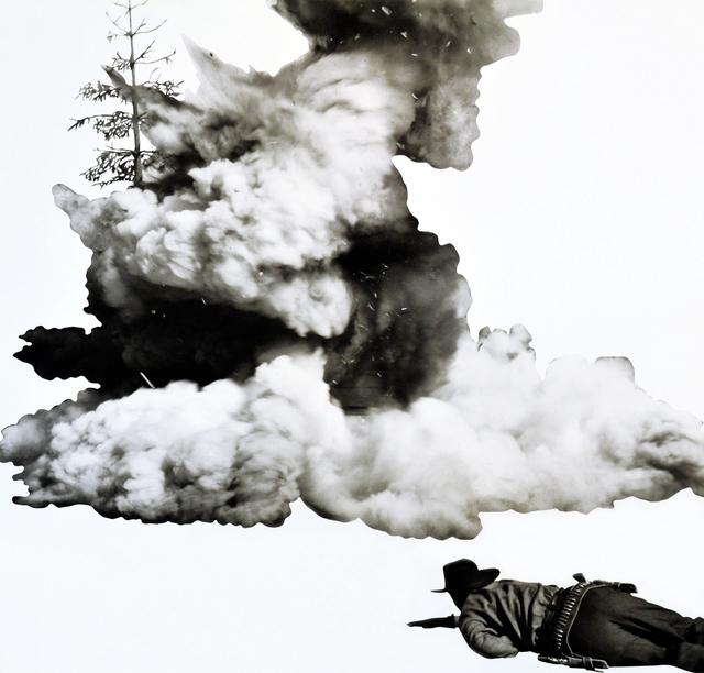 John Baldessari, 'Smoke, Tree, Shadow, and Person', 2011, MLTPL
