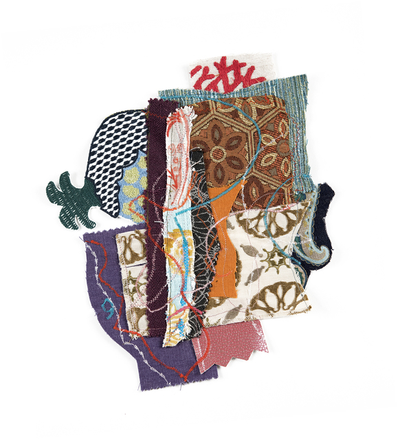 Alyce Gottesman, 'Fragments', 2020, Mixed Media, Fabric, thread, Imlay Gallery