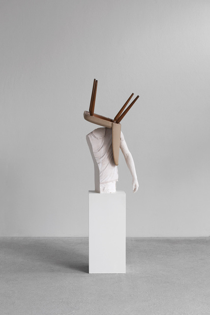 , 'One Minute Forever (chair),' 2019, Lehmann Maupin