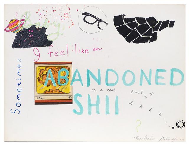 George Schneeman, 'Untitled (Abandoned)', ca. 1970, Pavel Zoubok Fine Art