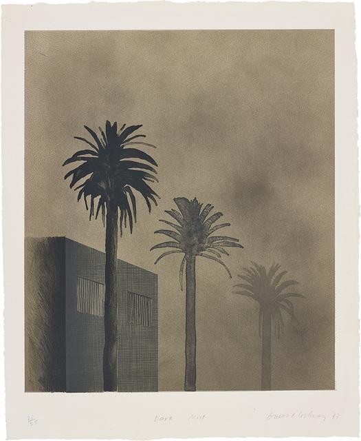 David Hockney, 'Dark Mist', 1973, Phillips