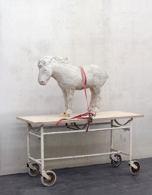 , 'Horse on stretcher,' ca. 2006, Galerie Judith Andreae