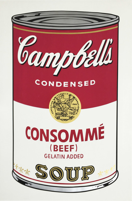 Andy Warhol, 'Consommé Beef, from Campbell's Soup I', 1968, Zeit Contemporary Art