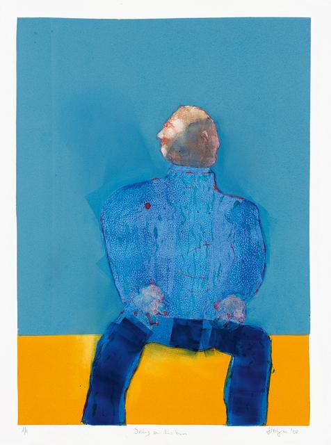 Robert Hodgins, 'Smug on his Bum', Strauss & Co