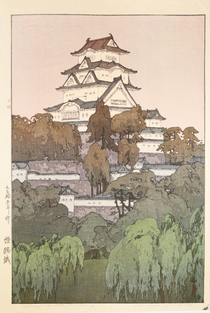 , 'Himeji Castle - Morning,' 1926, Ronin Gallery