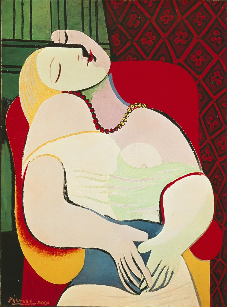 Image result for La Rêve(The Dream)by Pablo Picasso
