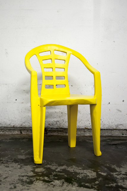 , 'Yellow chair I,' 2017, Ever Gold [Projects]