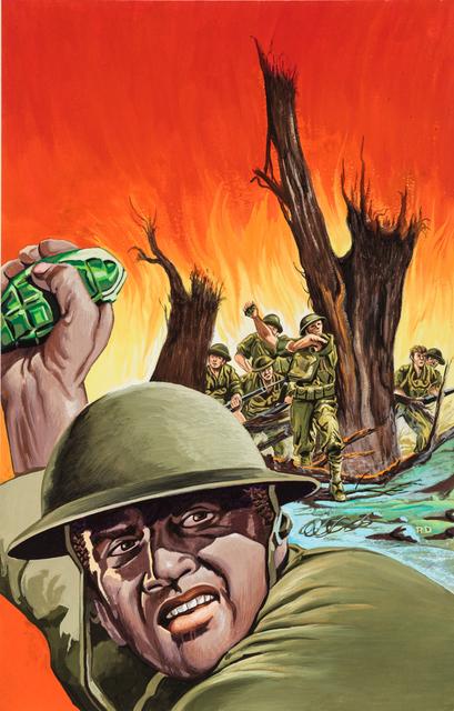 , 'Untitled (Army man throwing grenade),' c. 1960-75, Ricco/Maresca Gallery