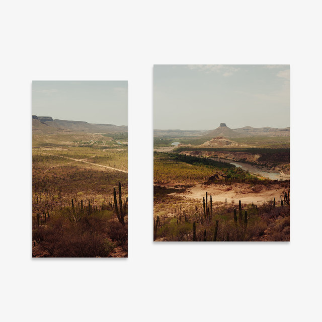 Marc Gabor, 'Vizcanio Desert Diptych ', 2018, Tappan