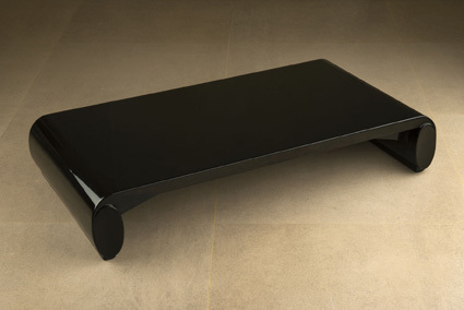, 'Low lacquered table,' , VALLOIS