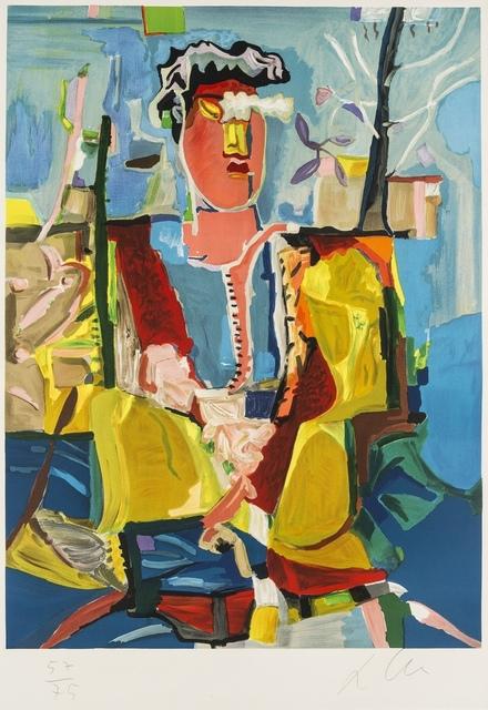 Sandro Chia, 'Figura con albero', c.1990, Forum Auctions