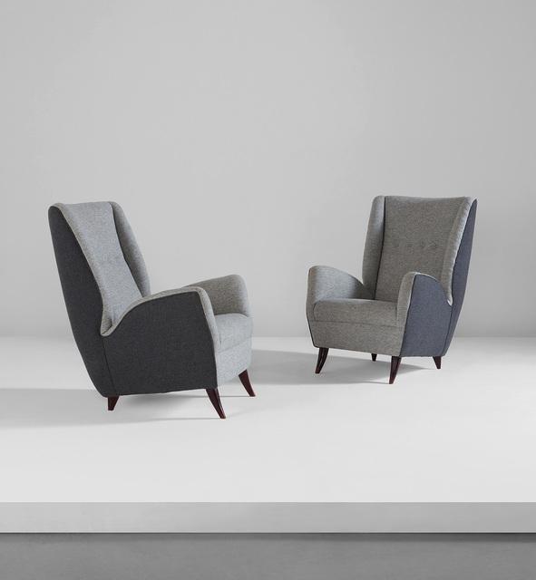 Gio Ponti, 'Pair of armchairs', circa 1950, Phillips