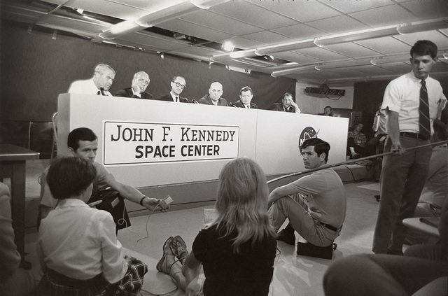 , 'Apollo 11 Press Conference, Cape Kennedy, Florida,' 1969, Pace/MacGill Gallery