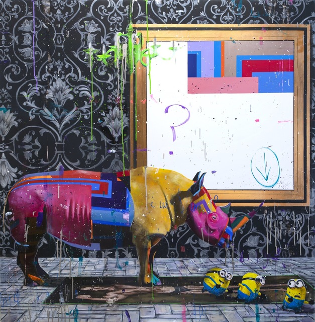 Angelo Accardi, 'What's happened to the Rhino ', 2019, Eden Fine Art