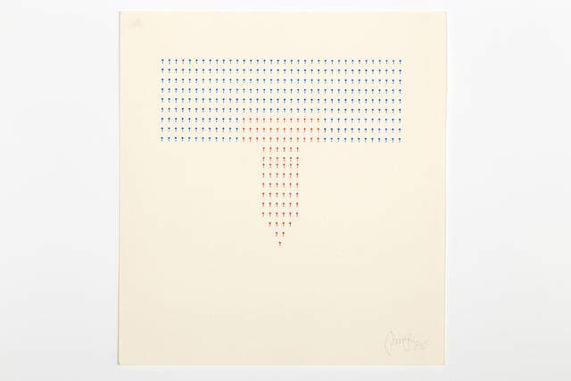 , 'Typecode 1,' 1978, Richard Saltoun