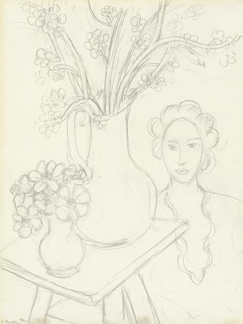 , 'Femme et bouquet,' 1940, Opera Gallery