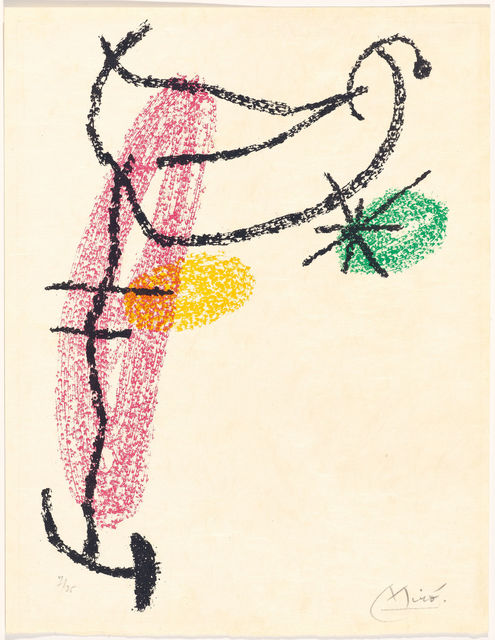 Joan Miró, 'From: Bouquet de rêves pour Neila', 1967, Koller Auctions