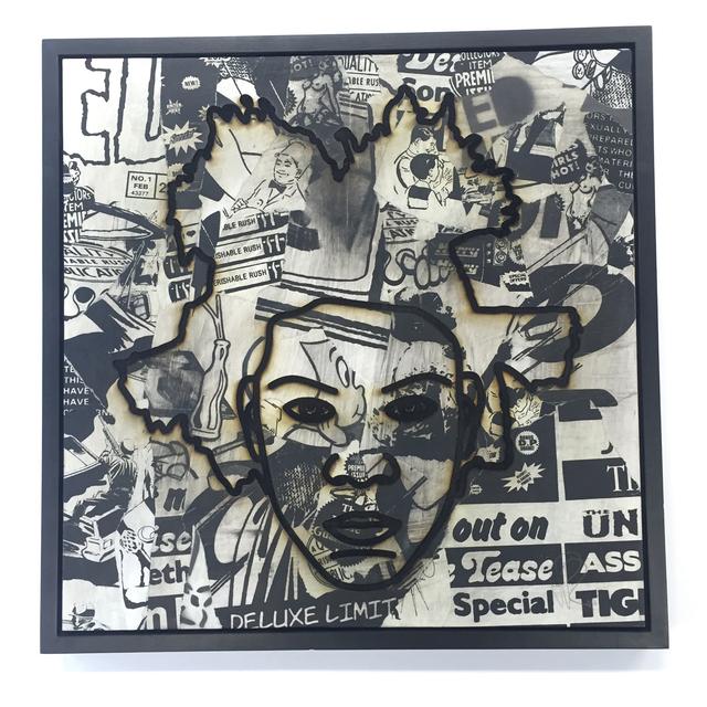 , 'Jean-Michel Basquiat,' 2015, 3 Punts Galeria