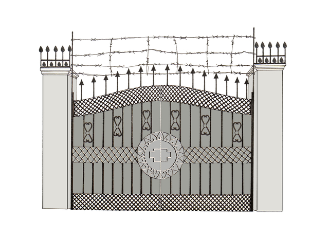 , 'Tough Gates - House #65,' 2018, Rossi & Rossi