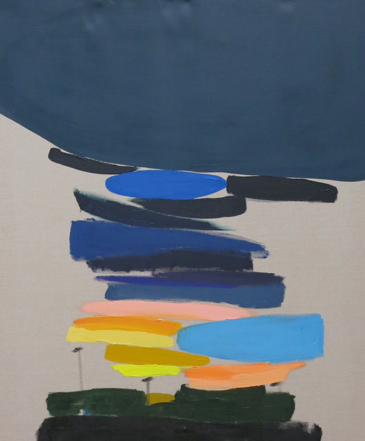 , 'Sunset Over Gas Station, Exit 36, I'm Still Alive, I Am Still Alive,' 2015, Stuart & Co. Gallery