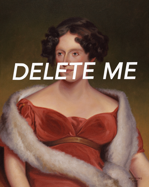 , 'Mrs John Biddle: Delete Me,' 2017, Foster/White Gallery