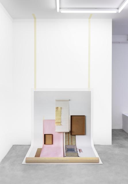 , 'Untitled (wall),' 2015, Tanya Leighton