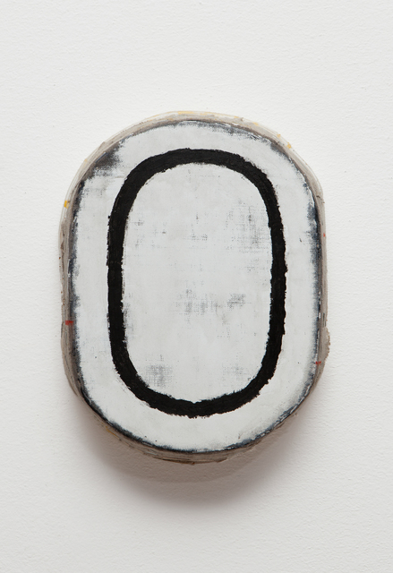 , 'Black and Withe Oval,' 2014, annex14