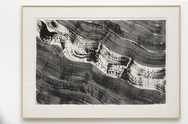 Matsumi Kanemitsu, 'Nagare #5', 1988, Louis Stern Fine Arts