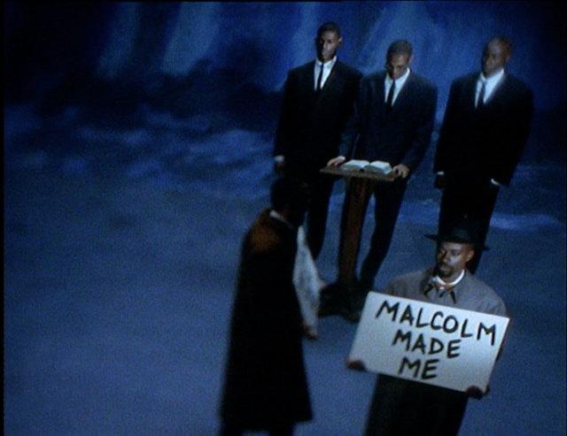 , '7 songs for Malcom X,' 1993, West Den Haag