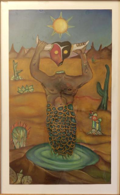 , 'desert merman,' , Tabla Rasa Gallery
