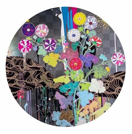 Takashi Murakami, 'Kansei: Like The River's Flow ', 2010, Dope! Gallery