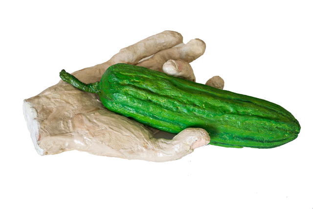 , 'Hand with cucumber,' 1994-1996, Cosmocosa