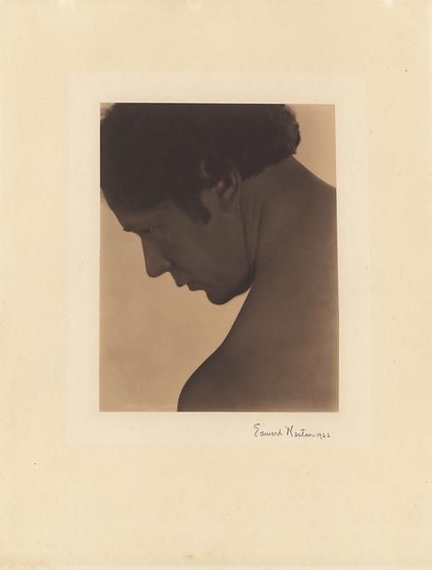 Edward Weston, 'Portrait of a Male Nude (Robert Fuller)', 1922, Scott Nichols Gallery