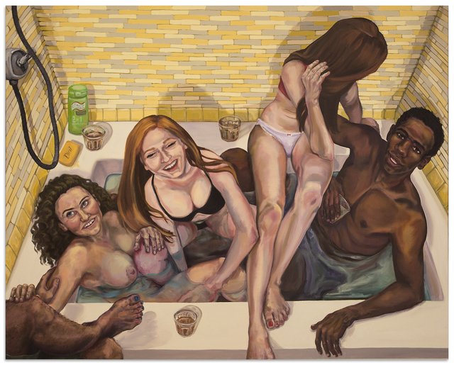 , 'Hot Tub,' 2016, Anna Zorina Gallery