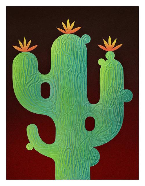 , 'Saguaro Cactus,' 2017, Hashimoto Contemporary