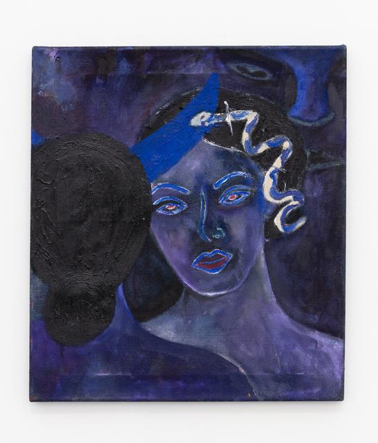, 'Blue Devil (Reflection),' 2019, Baert Gallery