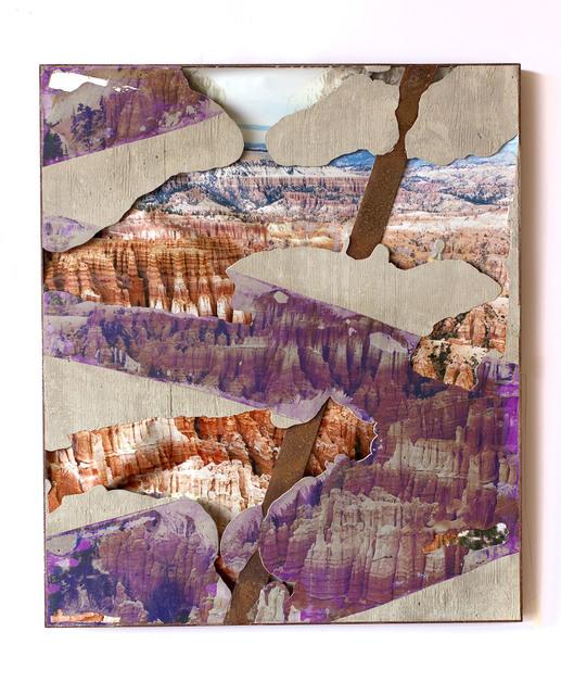 , 'Steel Face Concrete Bend (Bryce Canyon Hoodoos),' 2018, GRIMM