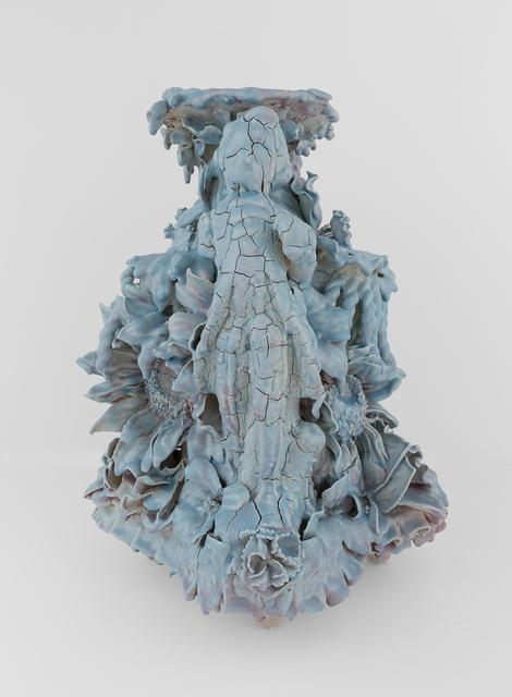 , 'Vase (Blue/Purple Dandy),' 2017, Conduit Gallery