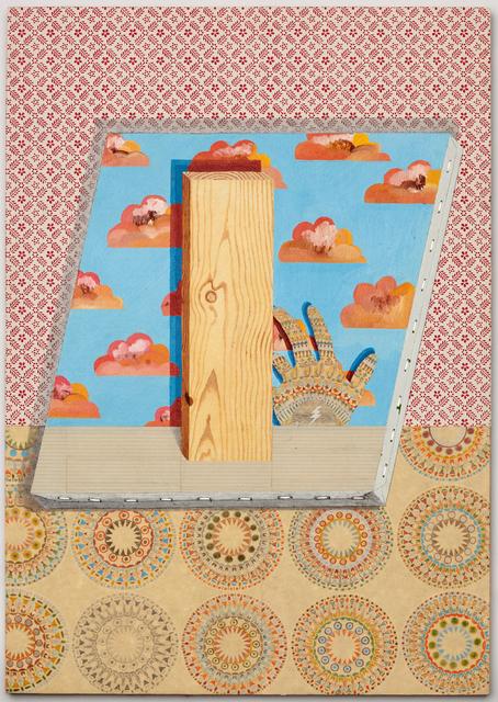 , 'Portrait of Board IV,' 2014, P.P.O.W