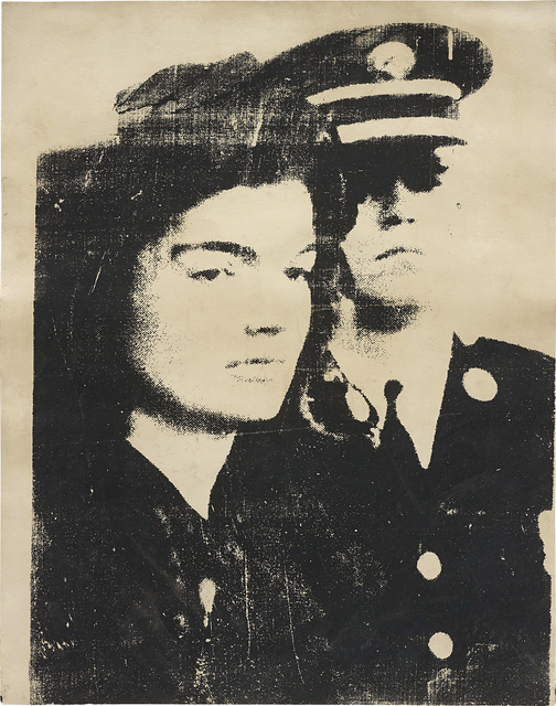 Andy Warhol, 'Jackie', 1967, Drawing, Collage or other Work on Paper, Silkscreen on paper, Phillips