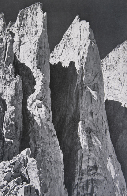 Ansel Adams, 'Whitney Pinnacles (East Face)', 1939, White Cross