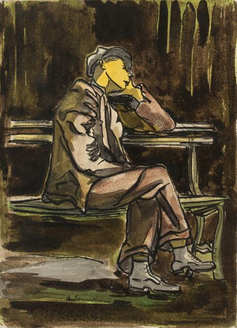 , 'Depression Years,' , Canadian Fine Arts