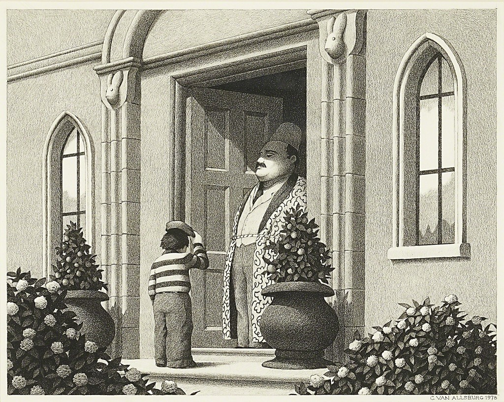 chris van allsburg untitled drawing from the garden of