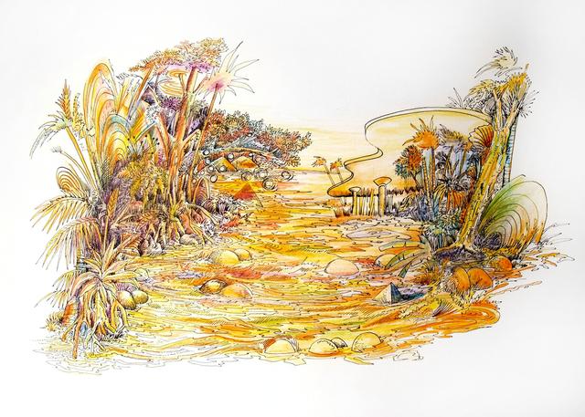 , 'Los dibujos de la Chapeadora (Drawings of the Gold-digger),' 2015, BRIC