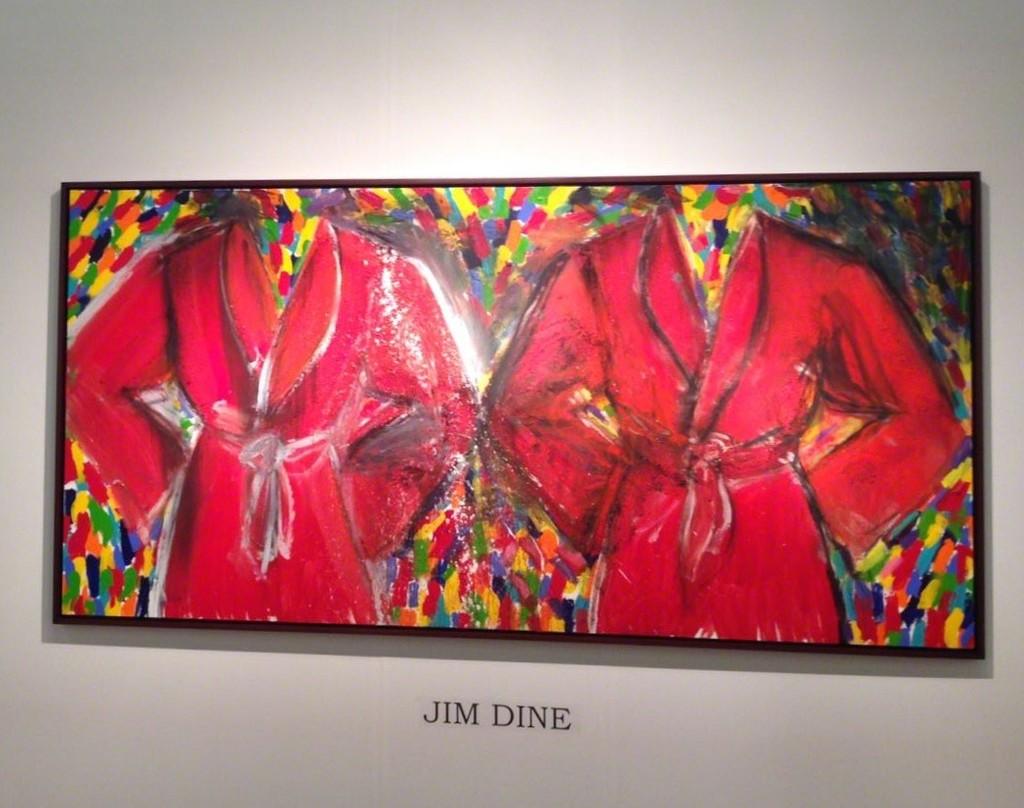 "BOCCARA ART presented Jim Dine's ""Anderson and Shepard"" at Art New York 2018"