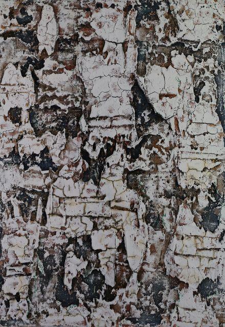 ", 'Alpine rugged ""blue brown"",' 2018, Sarasin Art"