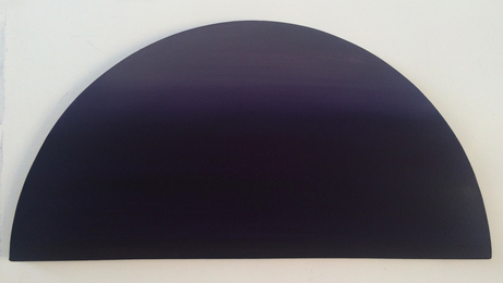 Dark Purple Half Moon Fixture