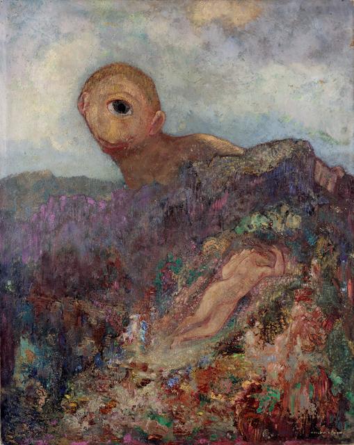 Odilon Redon, 'The cyclops', ca. 1914, Kröller-Müller Museum