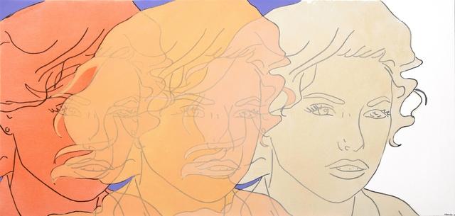 Hilary Bond, 'Sunset Orange, Apricot, Cream', 2015, Artspace Warehouse
