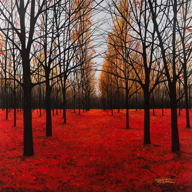 , 'Crimson Leaves,' , Merritt Gallery